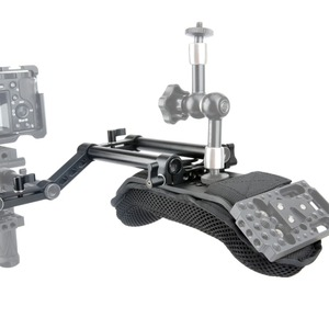 Image 4 - NICEYRIG デジタル一眼レフカメラ一眼レフビデオカメラショルダーリグドスカメラショルダーパッドとレール 15 ミリメートルロッドアクセサリー