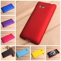 For HTC Desire 600 Dual SIM 606W New High Quality Black Rubberized Hard Matte Case Cover