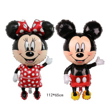 Foil Balloon Mickey Minnie Mouse Childrens Happy Birthday Party Decoration Kids Toys Gift Head