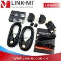 LINK-MI LM-WHD03 30 m LOS 60 GHz WI-FI Sem Fio HD Zero Latência 30 m Sem Fio de Transmissão de Vídeo HDMI Transmissor Receptor