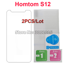 2 stücke für Doogee HomTom S12 Gehärtetem Glas Screen Protector Film Für Homtom S12 5,0 Glas Handy Schutzhülle Filme fall