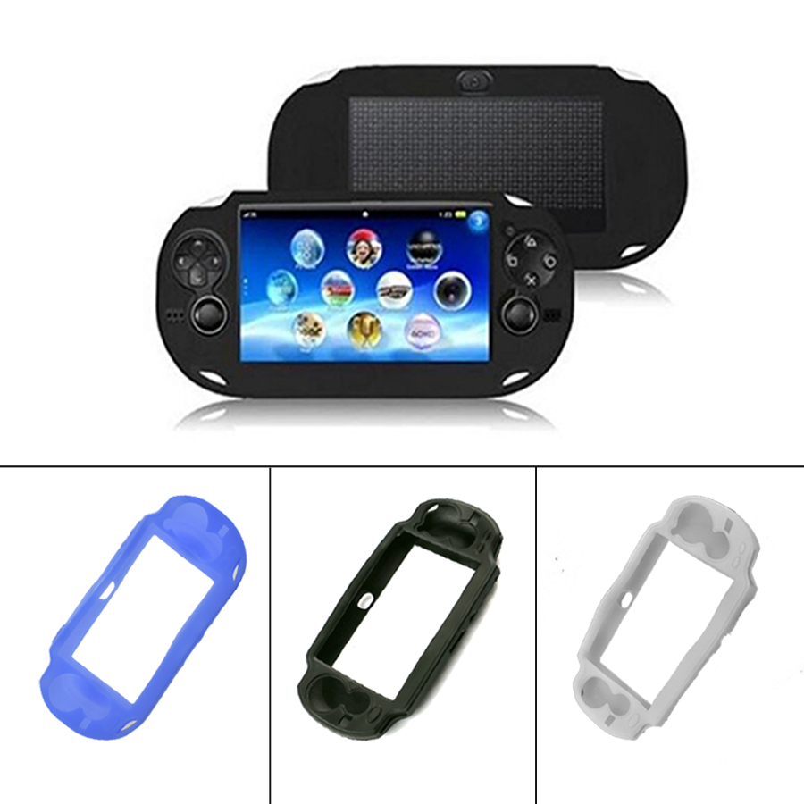 Silicone Case Cover For PSP <font><b>VITA</b></font> <font><b>1000</b></font> Thin Soft Rubber Silicone Cover For <font><b>PS</b></font> <font><b>VITA</b></font> <font><b>1000</b></font> Accessories Gel Protective Case skin image