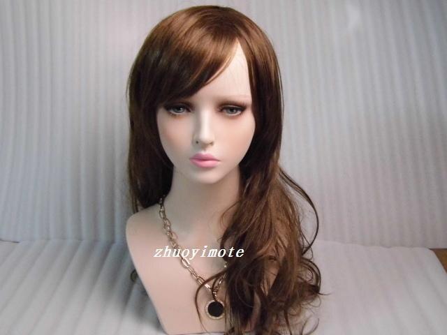 Mannequin femme réaliste en fibre de verre de haute qualité tête factice buste tête de mannequin tête de perruque - 5