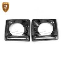 For G Class W463 G500 G55 G63 G65 Carbon Fiber led Hood Head Light Cover
