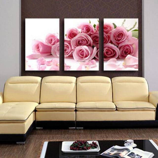 Romantische Design Liebevolle Zimmer Dekoration Rosa Rose Blumen 3
