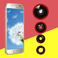 4 en 1 lente Gran Angular Ojo de Pez Macro Teleobjetivo Lente de Teléfono Móvil kit para apple iphone 6/6 s plus 5/5S samsung htc xiaomi redmi hornor