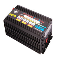 Uninterrupted Power Supply 1500W DC12V or DC 24V to AC 220V or 110V 50HZ UPS Inverters / Home Use inverter with Charger