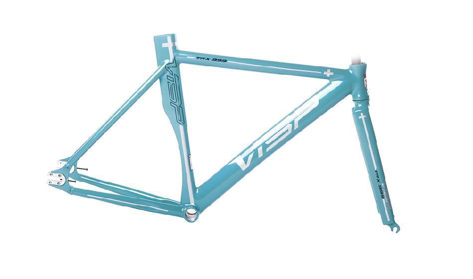 Bicycle super fixed gear frame visp trx999 48/51/54/58 aluminium ...