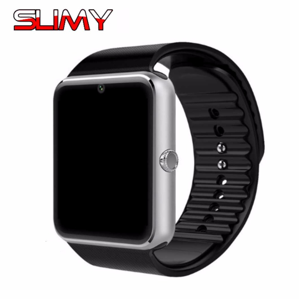 Slimy Smart Watch GT08 Clock Support TF SIM Card Wearable Bluetooth Watch for Android Phone Smartwatch