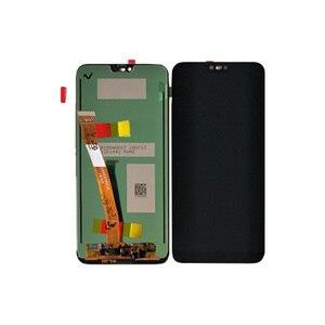 """Image 2 - Oryginalny M & Sen 5.84 """"dla Huawei Honor 10 wyświetlacz LCD + Panel dotykowy Digitizer z odciskiem palca dla COL AL10 COL L29 COL L19"""