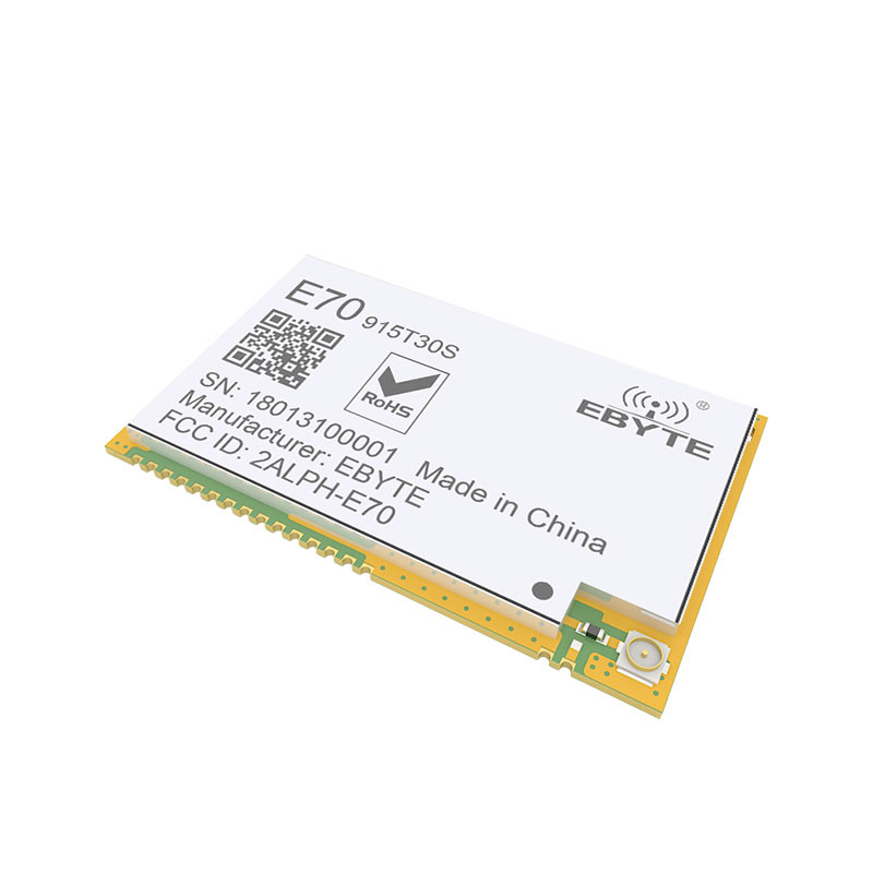 Image 4 - E70 915T30S CC1310 915MHz 1W Wireless rf Module CC1310 Serial Transceiver SMD 915M Module-in Fixed Wireless Terminals from Cellphones & Telecommunications