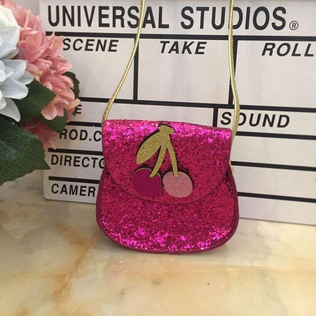 Cute Baby Girls Coin Purse Handbag Glitter Sequin Kids Mini Zero Wallet Bag Little Girl Crossbody Shoulder Bags Purses Change