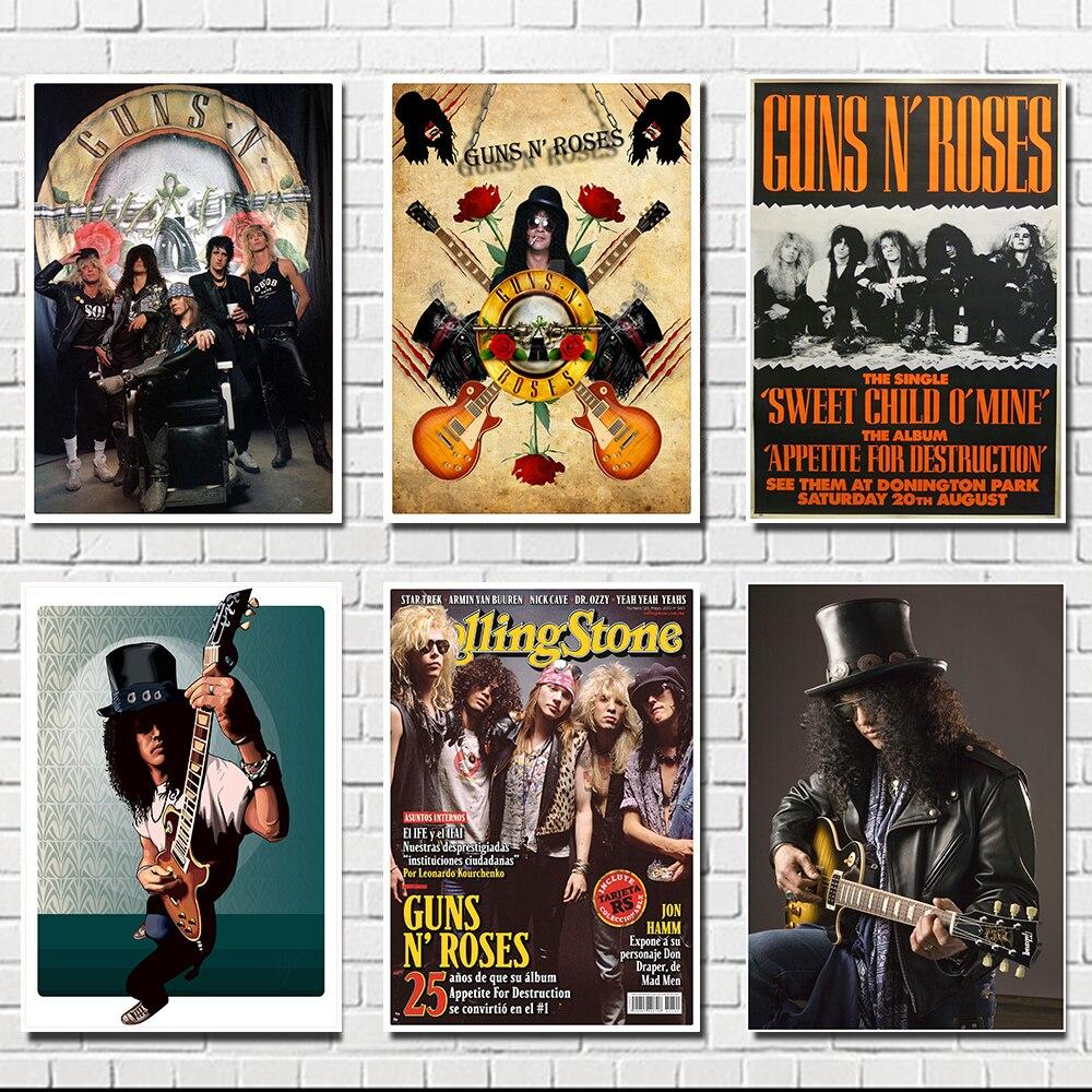 US Seller Guns N/' Roses rock band poster home decor wall art print