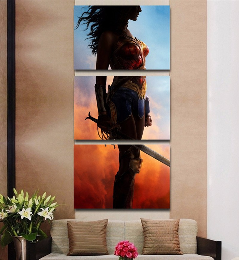 Wonder Woman Wall Art popular wonder woman canvas art-buy cheap wonder woman canvas art