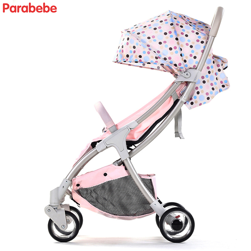 5.7kg Compact Lightweight Baby Stroller Foldable Pram For Children Kids Buggy 2018 Fashion Umbrella Strollers Portable Pushchair 2017 special offer poussette baby strollers aiqi stroller portable foldable high landscape suspension umbrella pram pushchair
