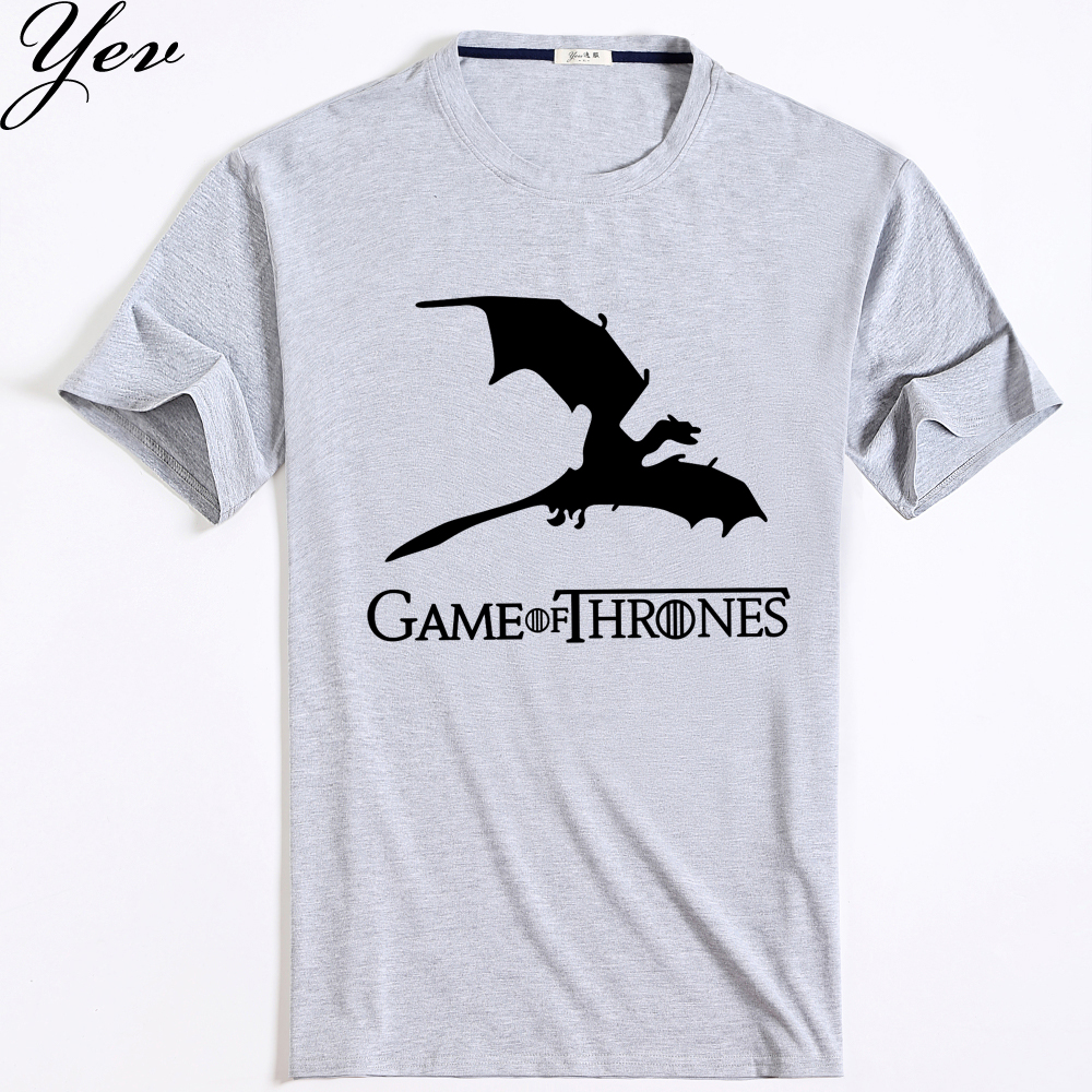 48 game of the throne t shirt mens new summer printed 100 New designer t shirts