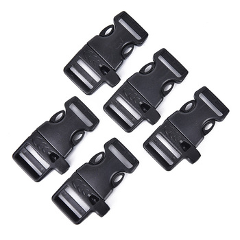 5 sztuk paczka gwizdek klamra plastikowe zakrzywione boczne klamry zwalniające na zewnątrz bransoletka plecak tanie i dobre opinie Gmarty CN (pochodzenie) Whistle Buckle