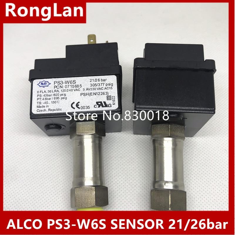 [SA] Eco original original ALCO pressure switch PS3-W6S 21/26 bar pressure controller sensor майка print bar alco r