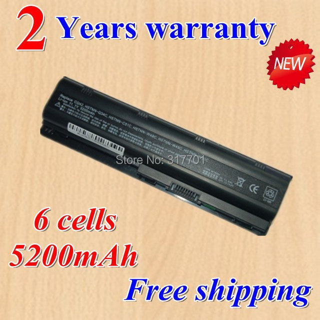 [Special price] High quality New 6 Cell Laptop Battery for HP Pavilion g4 g6 g7 G62 G72 dm4-1000 CQ32 black