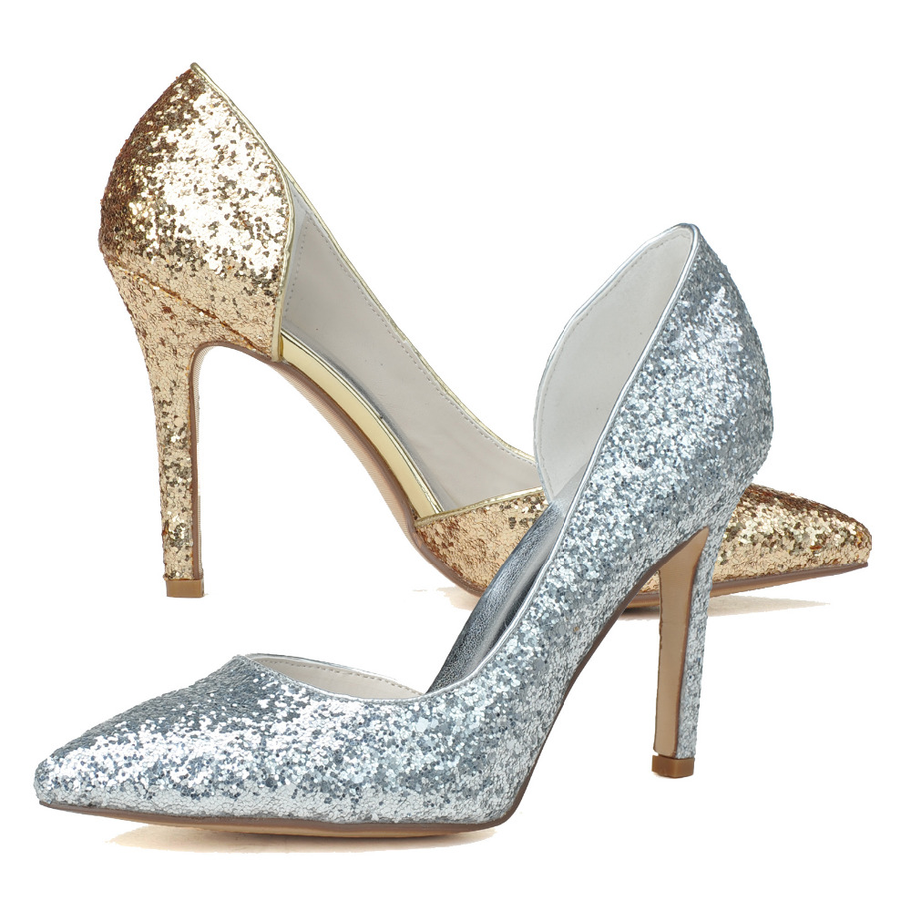 Popular Metallic Silver Heels-Buy Cheap Metallic Silver Heels lots ...