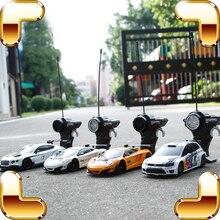 Подарок на год 1:24 RC пульт дистанционного управления автомобиль гонщик скоростная машина мини игрушечные машинки Дрифт Дети Мальчики игра Забавный подарок моделирование