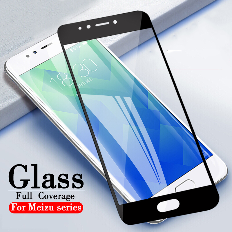Vidrio protector para Meizu M5S Maisie M5 Note vidrio templado para Meizu M6s S6 Pro 6 7 Plus 5C A5 M6 Note 6 U10 cubierta de película