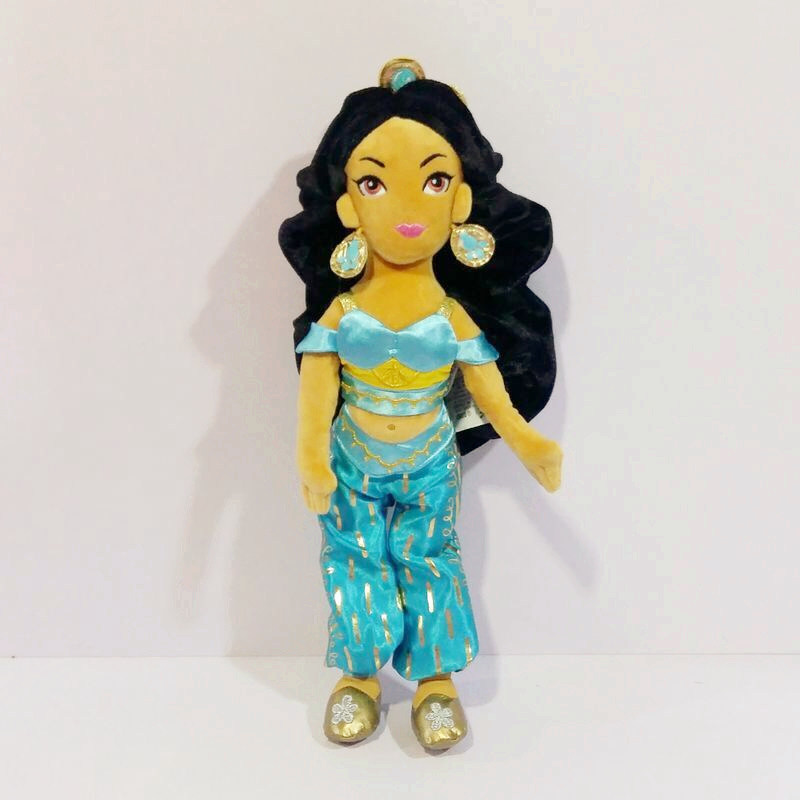 1pieces/lot 38cm plush Aladdin jasmine princess edition doll Children's toys Furnishing articles Children's gift
