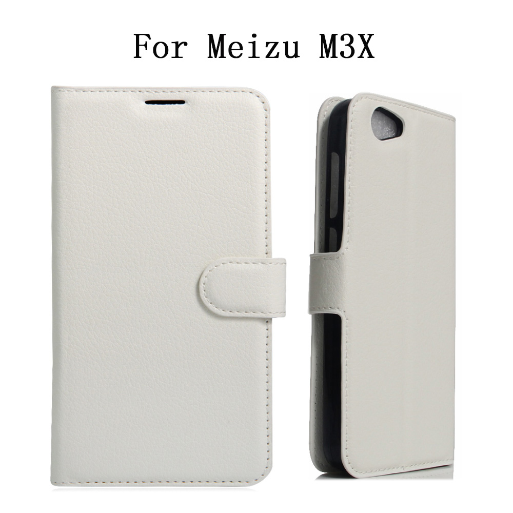 New Arrival For Meizu M682Q Meilan X Meizu M3X Case Stand Case Hight Quality Flip Leather Cover Coque Para For Meizu M3X 5.5''