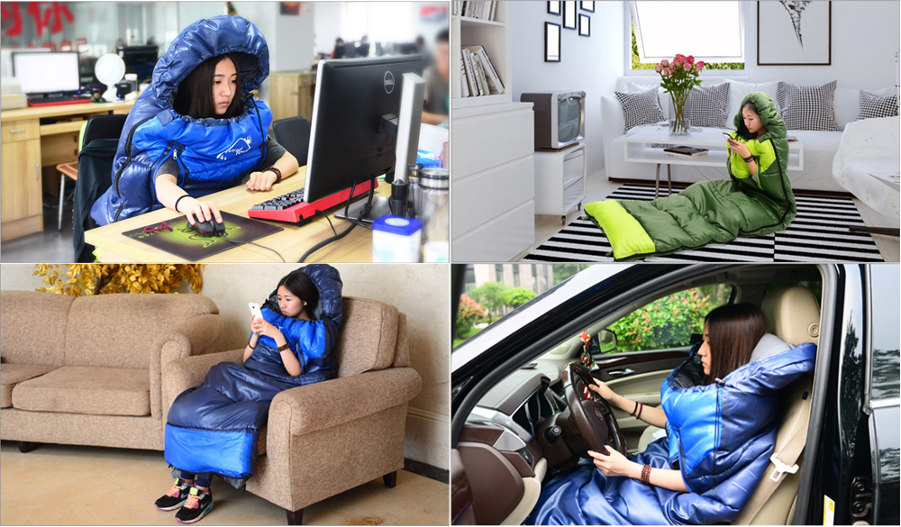 almoço Viagem splicing saco de dormir Saco de Dormir Adulto grosso