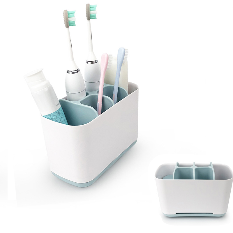 Toothpaste Holders Multifunctional Bathroom Electric Toothbrush Holder Toothpaste Organizer Rack Box Home Bathroom Accessories image