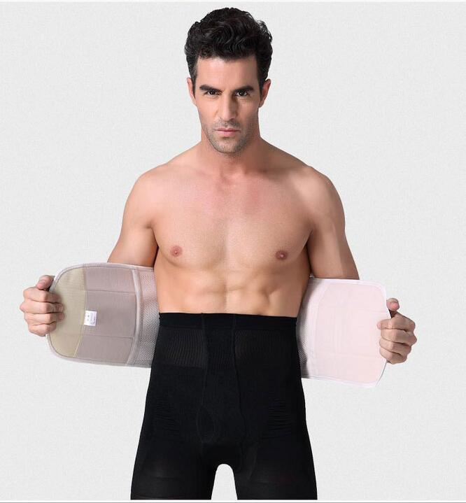 Strong man breathable Abdomen Shaper Body Girdle Slimming wraps Weight loss Sashes Shapewear Waist Trainers MR058 2