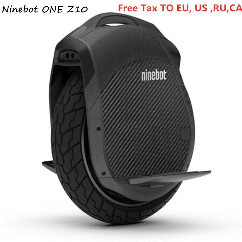 Original Ninebot Eine Z10/Z6 Einrad Selbst Ausgleich Roller 1800 watt 45 km/std Mit Griff Unterstützung Bluetooth APP Elektrische hoverboard