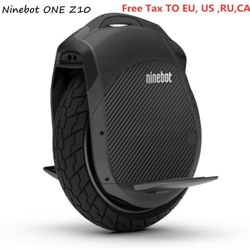 Originale Ninebot Un Z10/Z6 Monociclo Auto Bilanciamento del Motorino 1800 w 45 km/h Con Maniglia di Sostegno Bluetooth APP Elettrico hoverboard