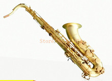 Original Henlucky WLT763 Tenor Saxophone Bb Musical Instrument Saxe Bare brass Sax Professional good quality saxofone