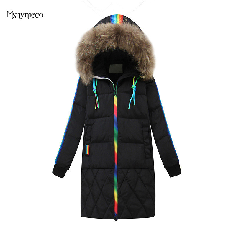 High Quality Winter Girls Coat Warm Jacket 2017 Fashion White Duck Down Children Parka Coat Thicken Hooded Outwear Kids Clothes