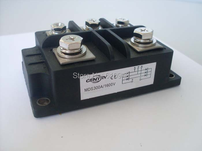 MDS300A 3-Phase Diode Bridge Rectifier 300A 1600V bridge rectifier Free Shipping dropshipping