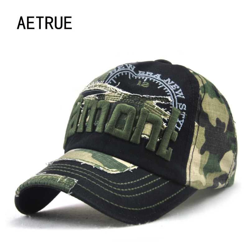 New Brand Baseball Caps Camouflage Men Casquette Women Snapback Caps Bone Hats For Men Washed Vintage Hat Gorras Baseball Cap aetrue snapback men baseball cap women casquette caps hats for men bone sunscreen gorras casual camouflage adjustable sun hat