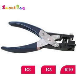 R3/R5/R10 Corner Hole Punch Corner Rounder Punch Cutter for PVC Card, Tag, Photo; Heavy Duty Clipper Approx 1/8, 1/5, 2/5 inch