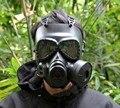Tactical Skull Resina Máscaras de Cara Completa niebla ventilador M04 Máscaras de Gas para Airsoft paintball CS Wargame Cara protectora Suministros de Seguridad