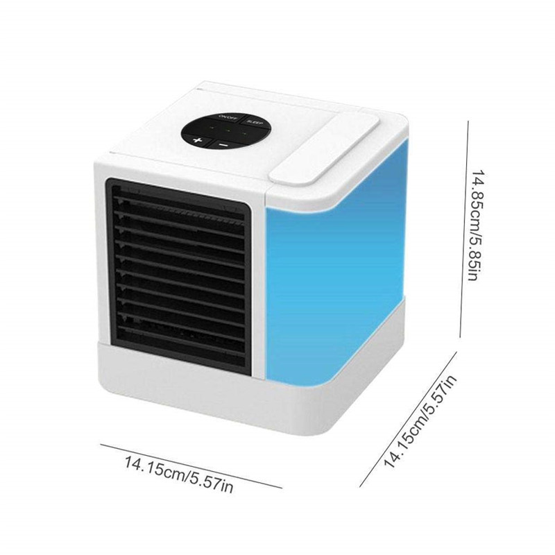 350W Silent and Portable Air Conditioner Powered by USB in 7 Color Lights with Low Energy Consumption 5