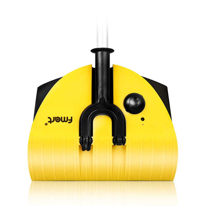 Fmart 2 em 1 Swivel Sweeper Vassoura Elétrica Sem Fio Portátil Aspirador Aspirador Sem Fio Aspirador Varrendo Arrastar FM-007