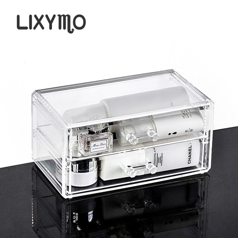Exhibition Stand Storage : Lixymo cosmetic makeup jewelry drawers organizer storage