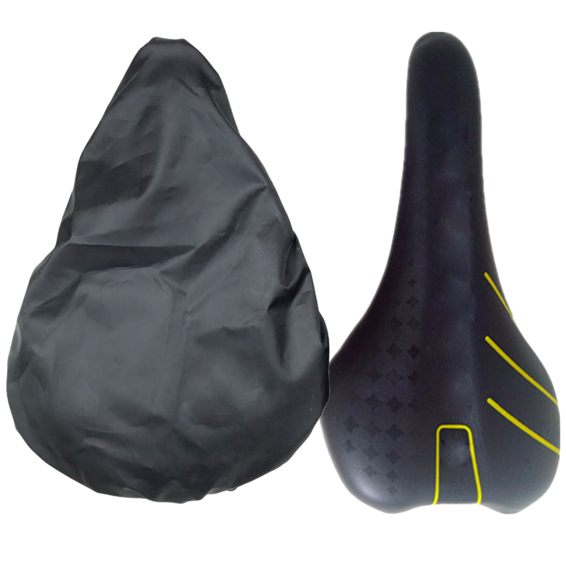Waterproof Outdoor Cycling Bike Bicycle Seat Rain Cover Elastic Dust and Rain Resistant UV Protector Bike Accessories