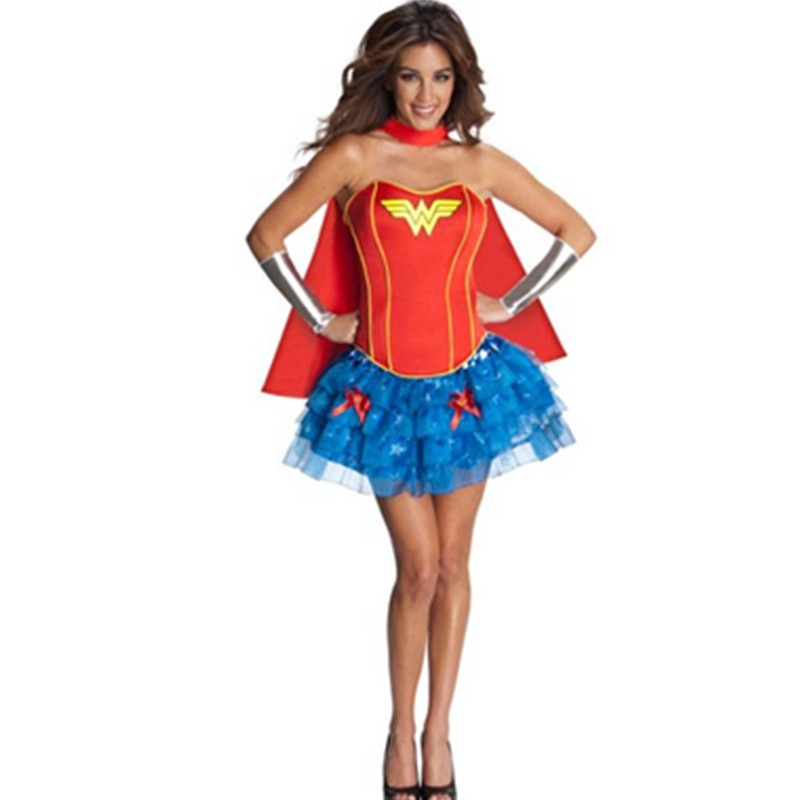 NEW Women\'s Sexy Super Hero Wonder Woman Cosplay Woman Superhero Costume Outfit Heroine Hottie Halloween Costume M L XL L15234 L15235 800x800