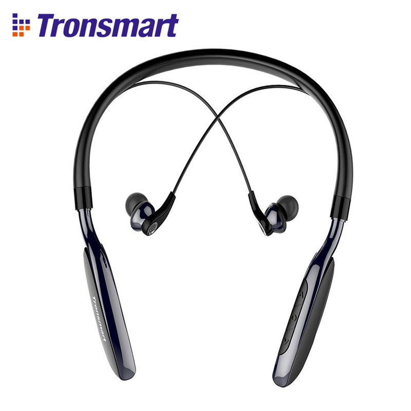 Tronsmart Encore S4 Bluetooth Headphones Active Noise Cancelling Wireless Earphones Headset for Gamer Gaming Earphone tronsmart encore s6 bluetooth headphones active noise cancelling wireless headphone gamer gaming foldable design headset