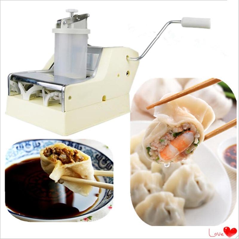 Wholesale home dumpling maker machine free shipping to Asia  low energy consumption dumpling maker machine