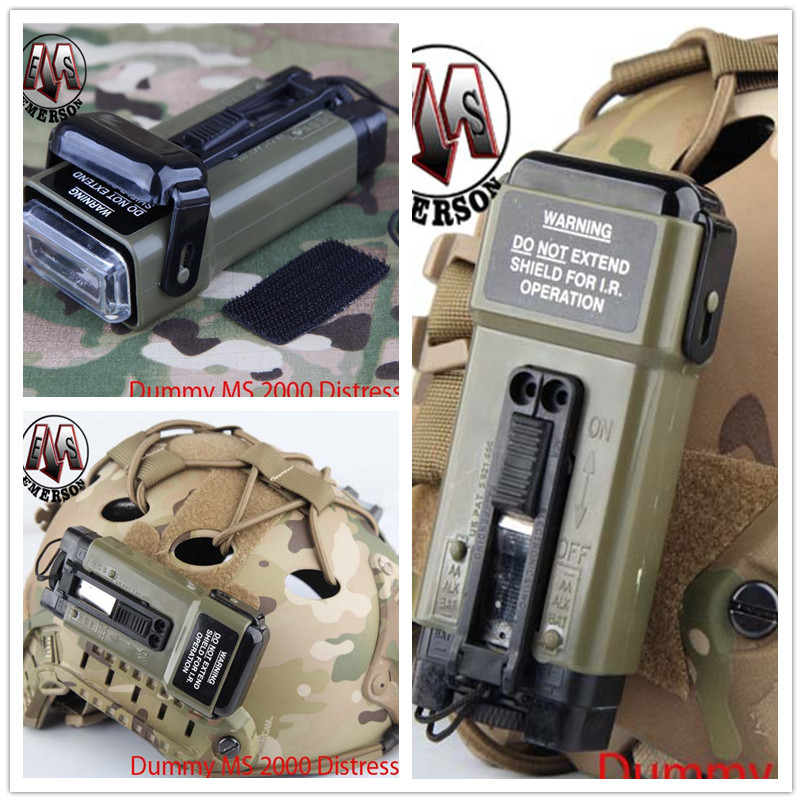 AIRSOFT Casque Light Distress Marker Cycle lumière Camping Chasse Strobe Red