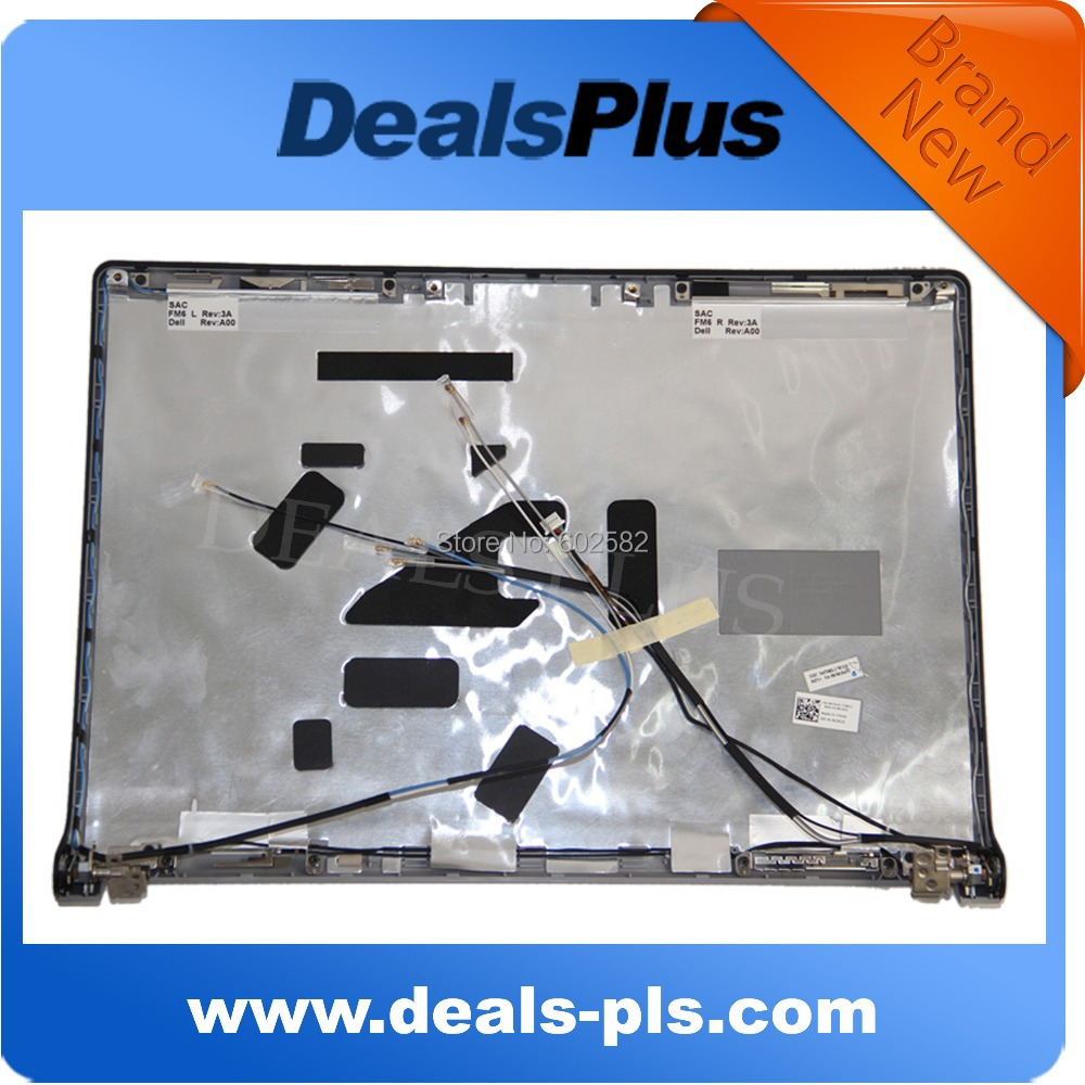 LCD BACK Cover With Hinges For Dell Studio 1535 1536 15.4 , 100 % Working ! NEW !