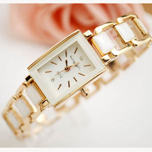 Watch Bracelet Rectangular New Fashion Simplified Female-Version Girl's School-Girl Hollowed