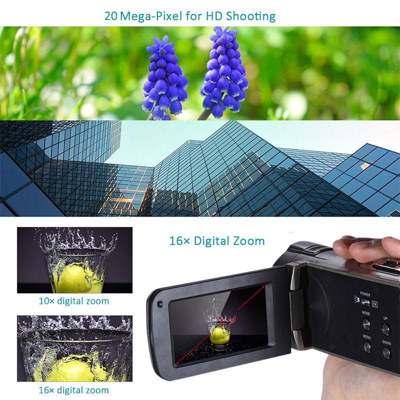 Gizcam 2.7 դյույմ 1080P HD թվային տեսախցիկ - Տեսախցիկ և լուսանկար - Լուսանկար 5